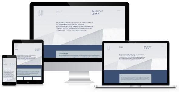 Webseite Baurecht Ulrich