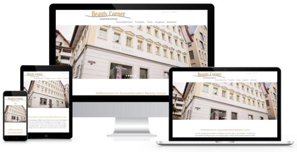 Webseite Beauty Corner Schwyz