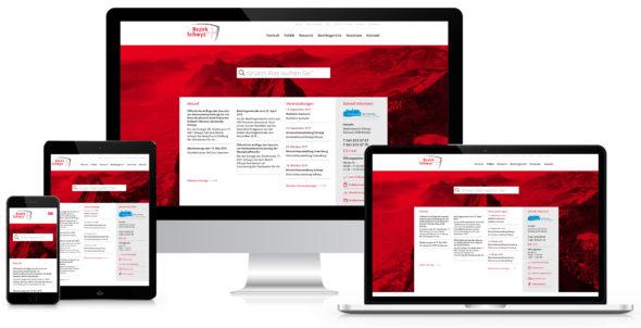 Webseite Bezirk-Schwyz