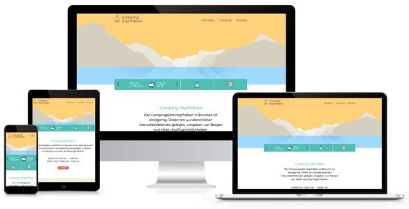 Webseite Camping Hopfräben