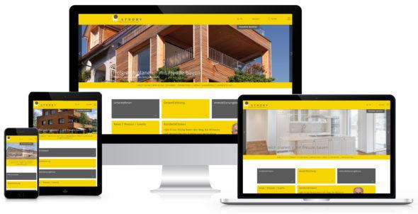 Webseite Strüby