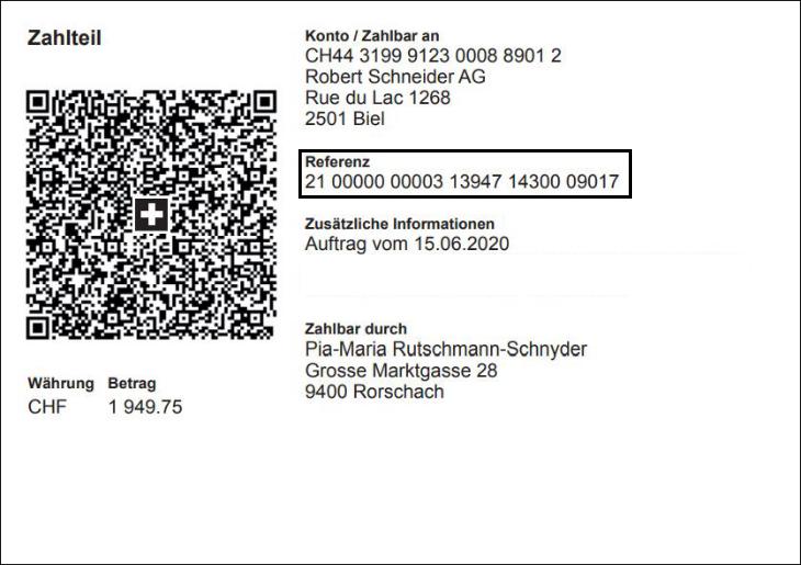 Bild von QR-Rechnung